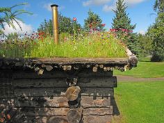 I just love flower bed roofs. I have always wanted to make one. Chicken coop idea?