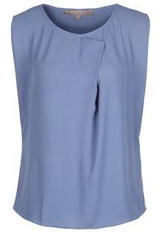 Minimalistic #chic top in #lavendel #blauw van Mint @ Zalando