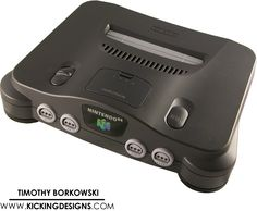Making a Groom's Cake this weekend. This is going to be a challenge. Nintendo 64 (N64) Stock Photos