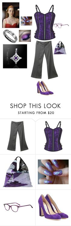 """""""The Young one of the covenant"""" by dreamturtlegirl ❤ liked on Polyvore featuring Patrizia Pepe, MM6 Maison Margiela and Jimmy Choo"""