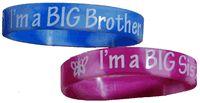 I'm a Big Brother / Big Sister Rubber Bracelet Bands