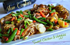 Slow Cooker #Recipe for Chicken and Veggies