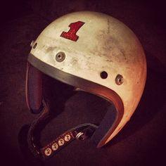 Tumblr Feed   Iron & Resin Motorcycle Style, Motorcycle Helmets, Bicycle Helmet, Riding Helmets, Triumph Motorcycles, Vintage Motorcycles, Bobber Helmets, Cafe Racer Helmet, Moto Car