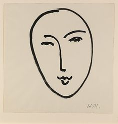 Grand Visage (Masque) Henri Matisse (French, Le Cateau-Cambrésis 1869–1954 Nice)