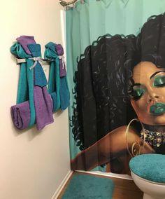Ideas home decored diy apartment bathroom towels Bathroom Towel Decor, Bathroom Shower Curtains, Bathroom Ideas, Bathroom Furniture, Budget Bathroom, Bath Ideas, Interior Design Living Room, Living Room Decor, Bedroom Decor