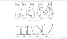 Can't read the page, but still some useful graphics for making myself a skirt or two this spring!