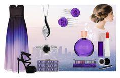 """blueberry fantasy"" by themostfashion on Polyvore featuring moda, City Chic, Casadei, Judith Leiber, Sirena, Mary Kay, Hard Candy, Estée Lauder i Rimmel"