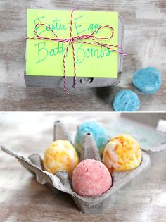 How To Make BATH BOMBS – Colorful Easter Egg Style!