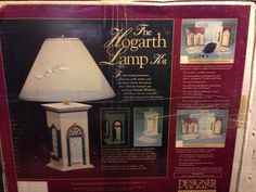 Designer Home THE HOGARTH LAMP KIT #150 by Walmer Enter NIB Hard to find Item #buildyourownlamp #collectiblelamp #DIY