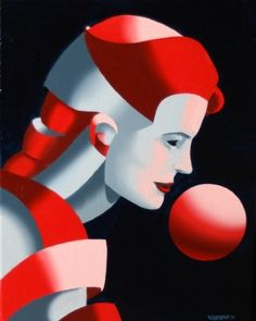 """Dark Matter Oil Painting Series #9 by Mark Webster Oil ~ 10"""" x 8"""""""