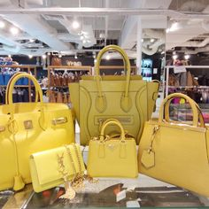 Are you a fan of YELLOW? These are all calling out your name! Get 'em now from #TheGreatReebonzSale at up to 70% off and additional 5-7% off with Citibank Cards. See you at Reebonz SPACE, Clifford Centre #07-07! 12 Jun (12-8pm) & 13 Jun (11-6pm). More info at <go.reebonz.com/grs2>. xxBecs  #ReebonzSG #ReebonzSPACE #OfflineSale #GreatSingaporeSale #GSS #Hermes #Celine #Fendi #YSL #SaintLaurent #Prada #Yellow