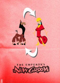 The Emperor's New Groove Disney Movie Posters, Disney Movies, Disney Stuff, Disney And Dreamworks, Disney Pixar, Make Em Laugh, Emperors New Groove, Singing In The Rain, Magic Kingdom