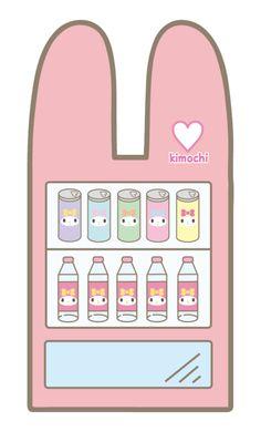 .#MyMelody vending machine (@ ̄ρ ̄@)