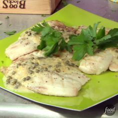 Recipe of the Day: Bobby's 5-Star Grilled Tilapia with Lemon Butter Don't shy away from grilling fish. Armed with Bobby's advice, you'll have no trouble. He recommends choosing a fish with a dense texture, such as tilapia. And because the white fish has such a mild flavor, it's the perfect canvas for the rich butter sauce in this recipe.