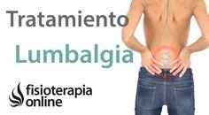 Lumbago o lumbalgia - Tratamiento con ejercicios, estiramientos y masajes