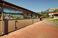 Learning Centre at Riverside Golf Course #FairmontHotSpringsResort #golf #FHSRGolf #golfbc #travelbc #destinationbc
