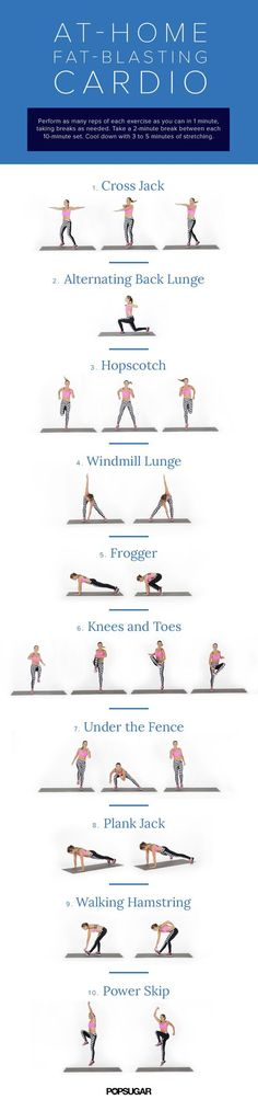 You don't need to spend hours on a treadmill to get the body you want! The great news is that you can customize your cardio to fit your body and your fitness level without spending all day at the gym. Keep reading to find out how. Enjoy this at-home fat-blasting cardio workout to help you get fit for your next pageant!