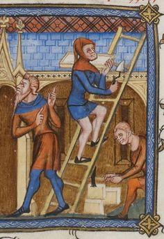 Vincent de Beauvais, Speculum historiale, traduction française par Jean de Vignay. Vol. I (Livres I-VII) Date d'édition : 1370-1380 NAF 15939 Folio 67r