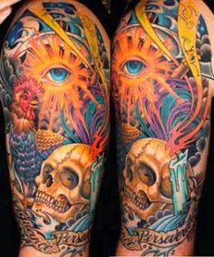 Arte da tatuagem