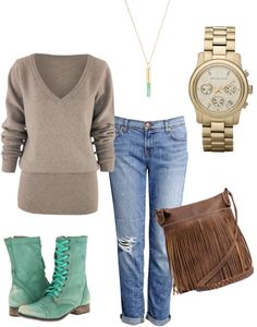 """""""Coffee Shop Casual Attire"""" by jaykichung on Polyvore"""