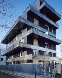 Apartment  building by Nicolas Laisné & Christophe Rousselle, Paris.