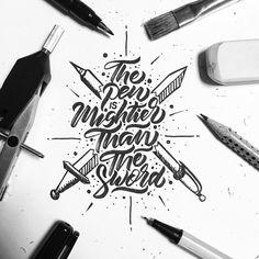 the pen is mightier...