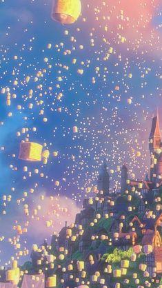 Disney Theme, Cute Disney, Disney Art, Tangled Wallpaper, Disney Wallpaper, Cute Cartoon Wallpapers, Animes Wallpapers, Aesthetic Iphone Wallpaper, Aesthetic Wallpapers