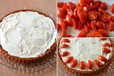 7 farcire con formaggio e pomodorini
