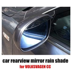 2X Car Back Mirror Eyebrow Rain Shield for VOLKSWAGEN for CC 10-15 Rain Cover Rearview Mirror Rain Shade free shipping