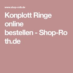 Konplott Ringe online bestellen-Shop-Roth.de