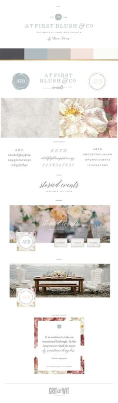 New Brand Reveal / At First Blush & Co. Events / Grit & Wit #event…