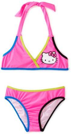 Hello Kitty Girls 7-16 Animal Halter... - #Animal, #Girls, #Halter, #Hello, #Kitty
