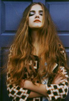 Marie Zucker for Material Girl magazine spring '13