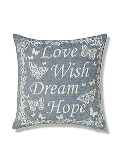 Duck Egg Love Wish Dream Hope Cushion