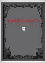Horrorscopes Little Book of Misfortunes at PLASTICLAND   would be perfect for my station for clients to read the month of October :)