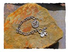 Tree of life bracelet Irish Jewelry, Silver Jewelry, Contemporary Jewellery, Modern Contemporary, Tree Of Life Bracelet, Silver Gifts, Cuff Bracelets, Jewelry Design, Jewelry Making