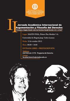 II Jornada Académica Internacional de Argumentación y Filosofía del Derecho. Law, Exhibitions, Events