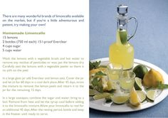 When God Gives You Lemons, Make Limoncello! - in the Mix Magazine