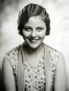 Barbara Kent ~WAMPAS Baby Stars 1927 (nee Cloutman) (December 16, 1907 – October 13, 2011) was a Canadian-born, North American-based film actress, prominent from the silent film era to the early talkies of the 1920s and 1930s, and a former (1925) Miss Hollywood.
