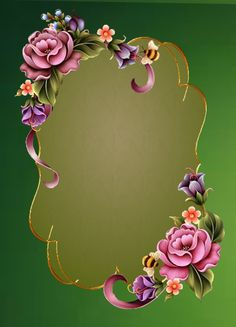 ✿¸¸.•*¨*✿¸¸.•*¨*✿¸¸.•*¨*✿¸¸.•*¨* ✿ Frame Border Design, Photo Frame Design, Studio Background Images, Frame Background, Paper Background, Picture Borders, Molduras Vintage, Boarders And Frames, Flower Phone Wallpaper