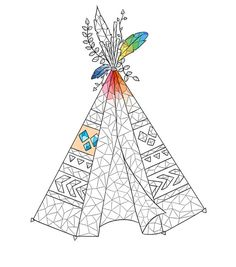 Adult coloring page Boho coloring page by justprintandcolor