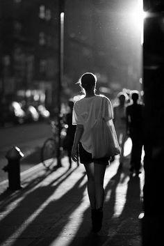 Apostrophe 9 noir et blanc black and white #rue #street