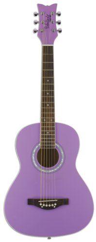 Daisy Rock Debutante Jr. Miss Acoustic Short Scale Popsicle Purple Guitar - http://www.rekomande.com/daisy-rock-debutante-jr-miss-acoustic-short-scale-popsicle-purple-guitar/