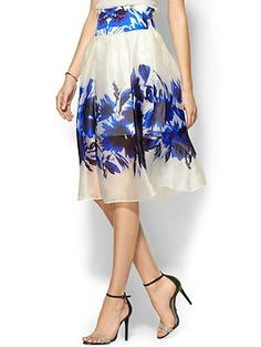 Milly Floral Mirage Skirt | Piperlime