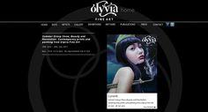Olyvia Oriental Fine Art, website design and development