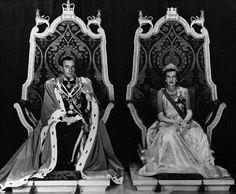 Portrait of Lord Louis Mountbatten and Lady Mountbatten on 21 June 1948