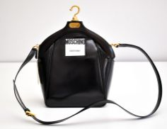 MOSCHINO'S LEATHER JACKET BAG #MOSCHINO #DesignerBags #Bags #Handbags #oomphelicious (Facebook/oomphelicious)