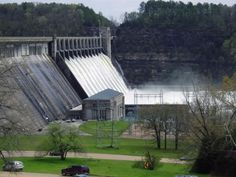 Lake Norfork Dam/Norfork River (North Fork of the White River). This was taken during the Great Release, when the lake became dangerously full.  It caused flooding downstream and erosion, but there was no other solution.  Very beautiful at the dam site.