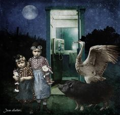 The Phone Booth - Jean Hutter - Digital Views