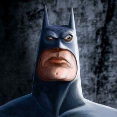 Batman a mano increible